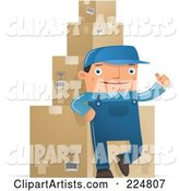 Vector Shipping Clipart by Qiun