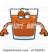 Vector Shot Glass Clipart by Cory Thoman