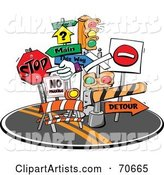 Vector Signs Clipart by Jtoons