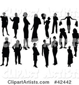 Vector Silhouette Clipart by Leonid