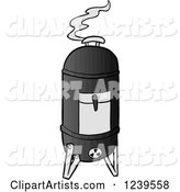 Vector Smoker Clipart by LaffToon