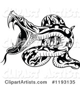 Vector Snake Clipart by Dero