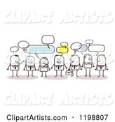 Vector Social Networking Clipart by NL Shop