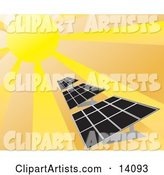 Vector Solar Clipart by Rasmussen Images