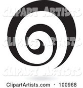 Vector Spiral Clipart by Cidepix