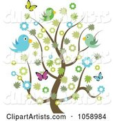 Vector Spring Time Clipart by Vectorace