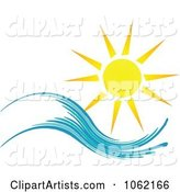 Vector Sun Clipart by KJ Pargeter