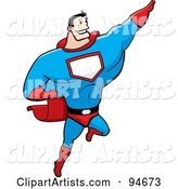 Vector Super Hero Clipart by Cory Thoman