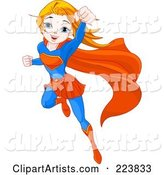 Vector Super Hero Clipart by Pushkin