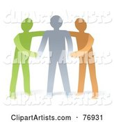 Vector Supportive Clipart by Qiun