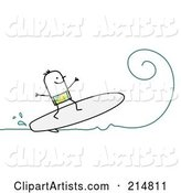 Vector Surfing Clipart by NL Shop