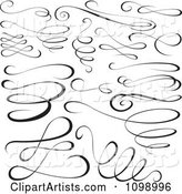 Vector Swirls Clipart by Dero