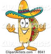 Vector Taco Clipart by Toons4Biz