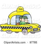 Vector Taxi Clipart by Gnurf