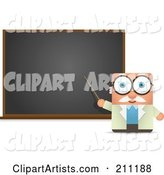 Vector Teacher Clipart by Qiun