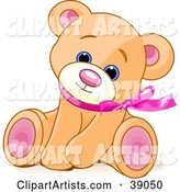 Vector Teddy Bear Clipart by Pushkin