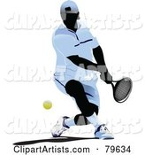 Vector Tennis Clipart by Leonid