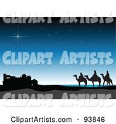 Vector Three Wise Men Clipart by Toonster