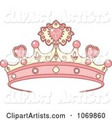 Vector Tiara Clipart by Pushkin