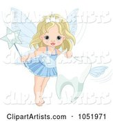 Vector Tooth Fairy Clipart by Pushkin