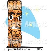 Vector Totem Clipart by Xunantunich