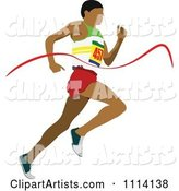 Vector Track and Field Clipart by Leonid