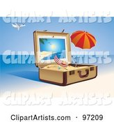 Vector Travel Clipart by Eugene