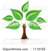 Vector Tree Clipart by Cidepix