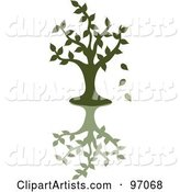 Vector Tree Clipart by Rogue Design and Image