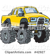 Vector Truck Clipart by Dennis Holmes Designs