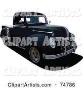 Vector Truck Clipart by Leonid