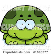 Vector Turtle Clipart by Cory Thoman