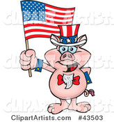 Vector Uncle Sam Clipart by Dennis Holmes Designs