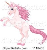 Vector Unicorn Clipart by Pushkin
