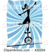 Vector Unicycle Clipart by Mheld