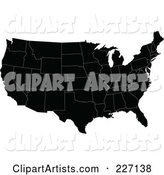 Vector United States Clipart by JR