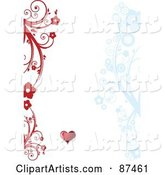Vector Valentines Day Clipart by Leonid