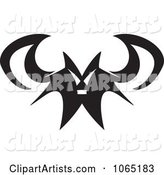 Vector Vampire Bat Clipart by Arena Creative