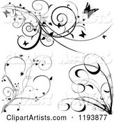Vector Vines Clipart by Dero