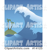Vector Wave Clipart by Rasmussen Images