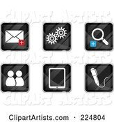 Vector Web Site Icons Clipart by Qiun