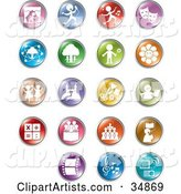 Vector Website Button Clipart by Alexia Lougiaki