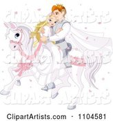 Vector Wedding Clipart by Pushkin