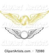 Vector Wings Clipart by Inkgraphics