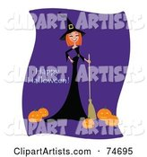 Vector Witch Clipart by Designbella