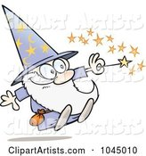 Vector Wizard Clipart by Gnurf