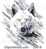 Vector Wolf Clipart by Tonis Pan