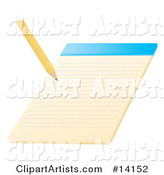 Vector Writing Clipart by Rasmussen Images