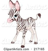Vector Zebra Clipart by Pushkin