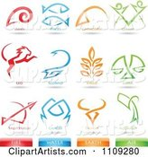 Vector Zodiac Clipart by Cidepix